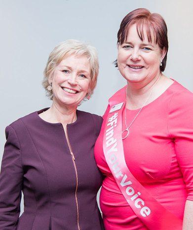 (2) Sally Magnusson & ASB President Lyndsey Greer-Phillips