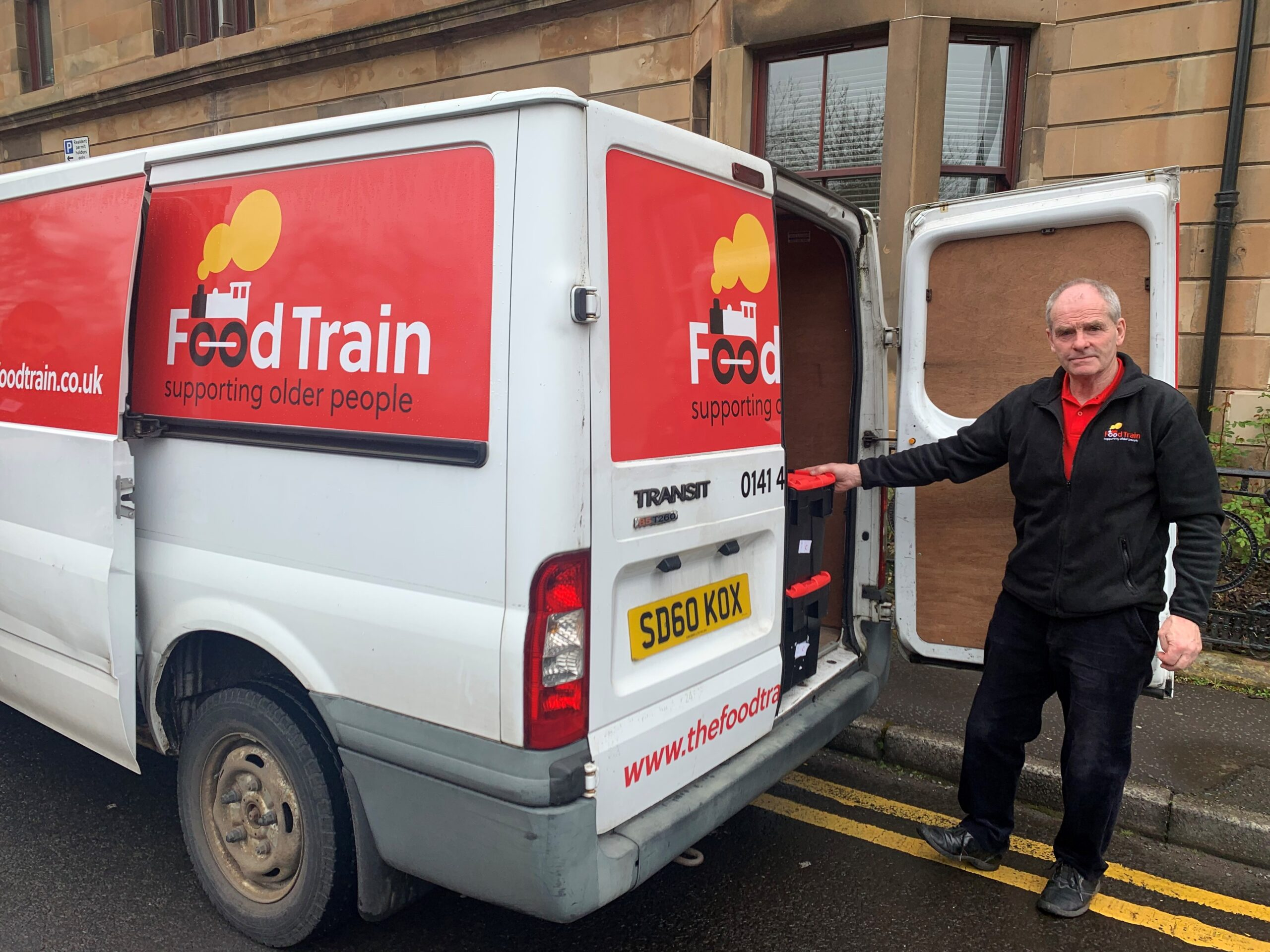 Food Train, van driver