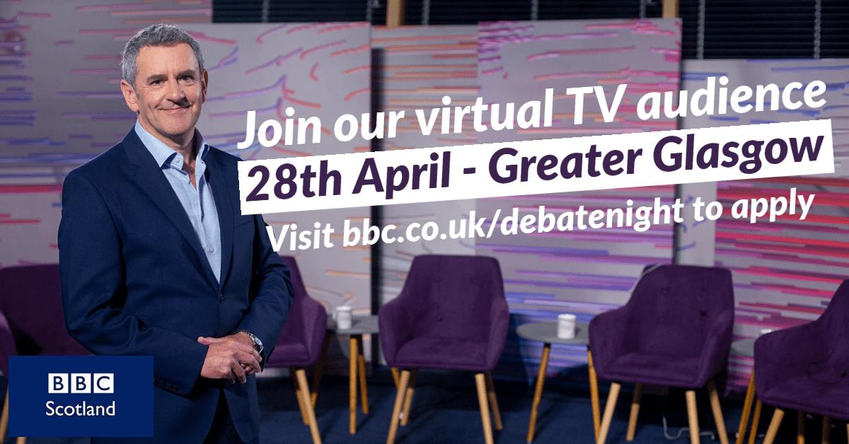 BBC Debate Night Invites Greater Glasgow - Apply Today