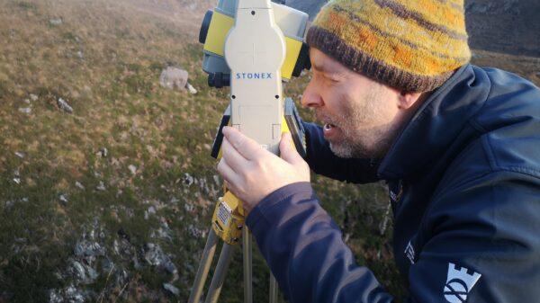 Derek Alexander, the Trust's Head of Archaeology 1
