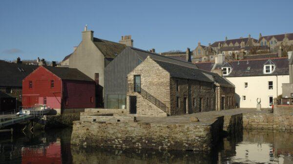 The Pier Arts Centre, Orkney photograph Alistair Peebles